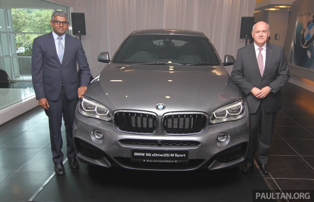 Bmw X6 Xdrive35i Ckd Launched In M Sia Rm667k