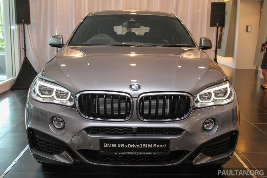 BMW X6 xDrive35i CKD launched in M'sia – RM667k Image #377815