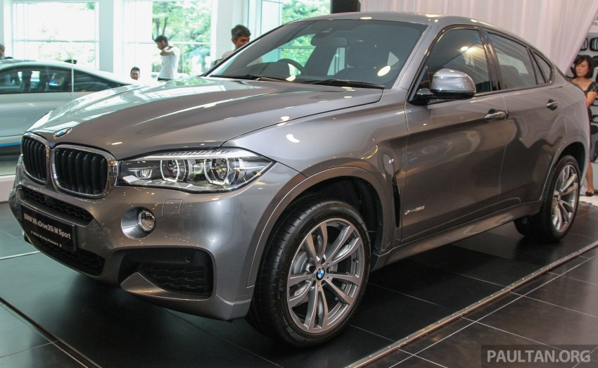 BMW X6 xDrive35i CKD launched in M'sia – RM667k Image #377816