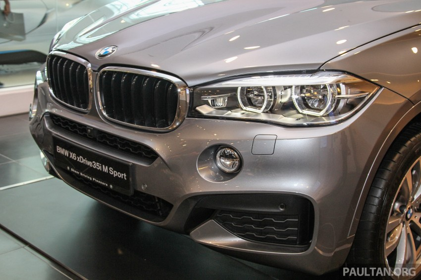 BMW X6 xDrive35i CKD launched in M'sia – RM667k Image #377817