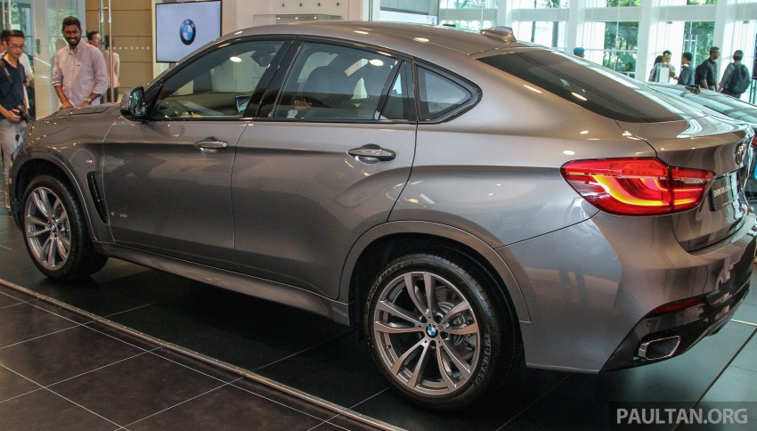 BMW X6 xDrive35i CKD launched in M'sia – RM667k Image #377829