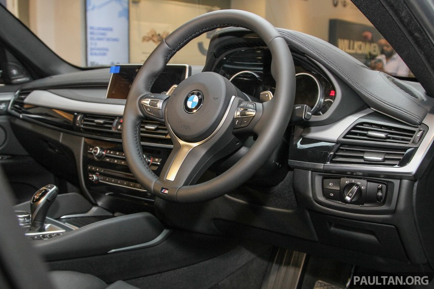 BMW X6 xDrive35i CKD launched in M'sia – RM667k Image #377841