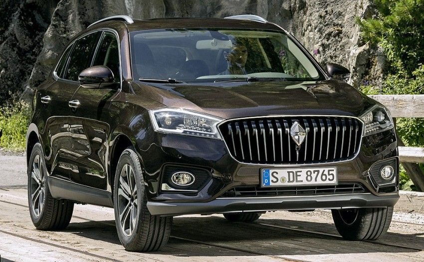 Borgward BX7 – first official images surface online! Image #378636