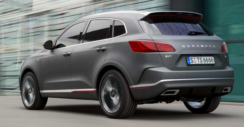 Frankfurt 2015: Borgward BX7 SUV officially revealed Image #381415