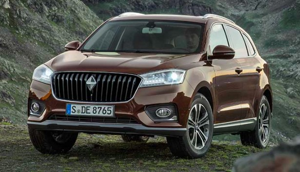 Frankfurt 2015: Borgward BX7 SUV officially revealed Image #381403