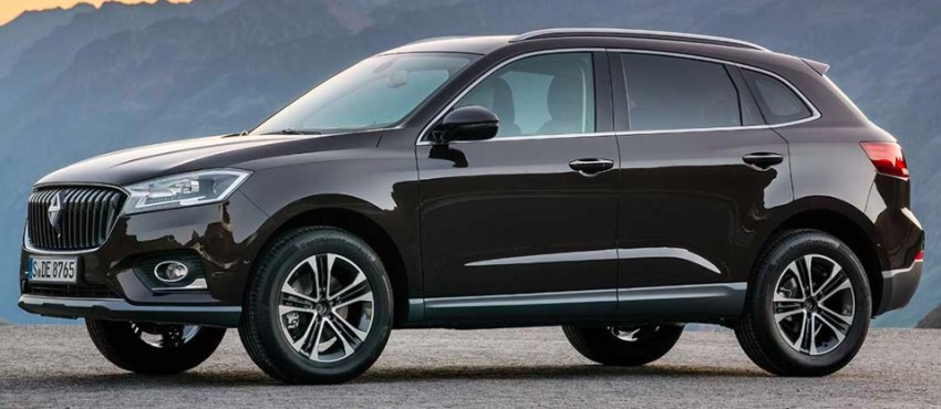 Frankfurt 2015: Borgward BX7 SUV officially revealed Image #381402