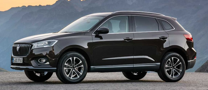 Frankfurt 2015: Borgward BX7 SUV officially revealed Image #381459