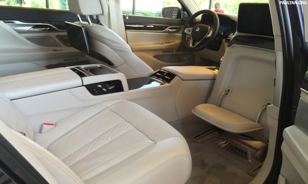 Comparo G11 Executive Seat Empty BMW 7 Series