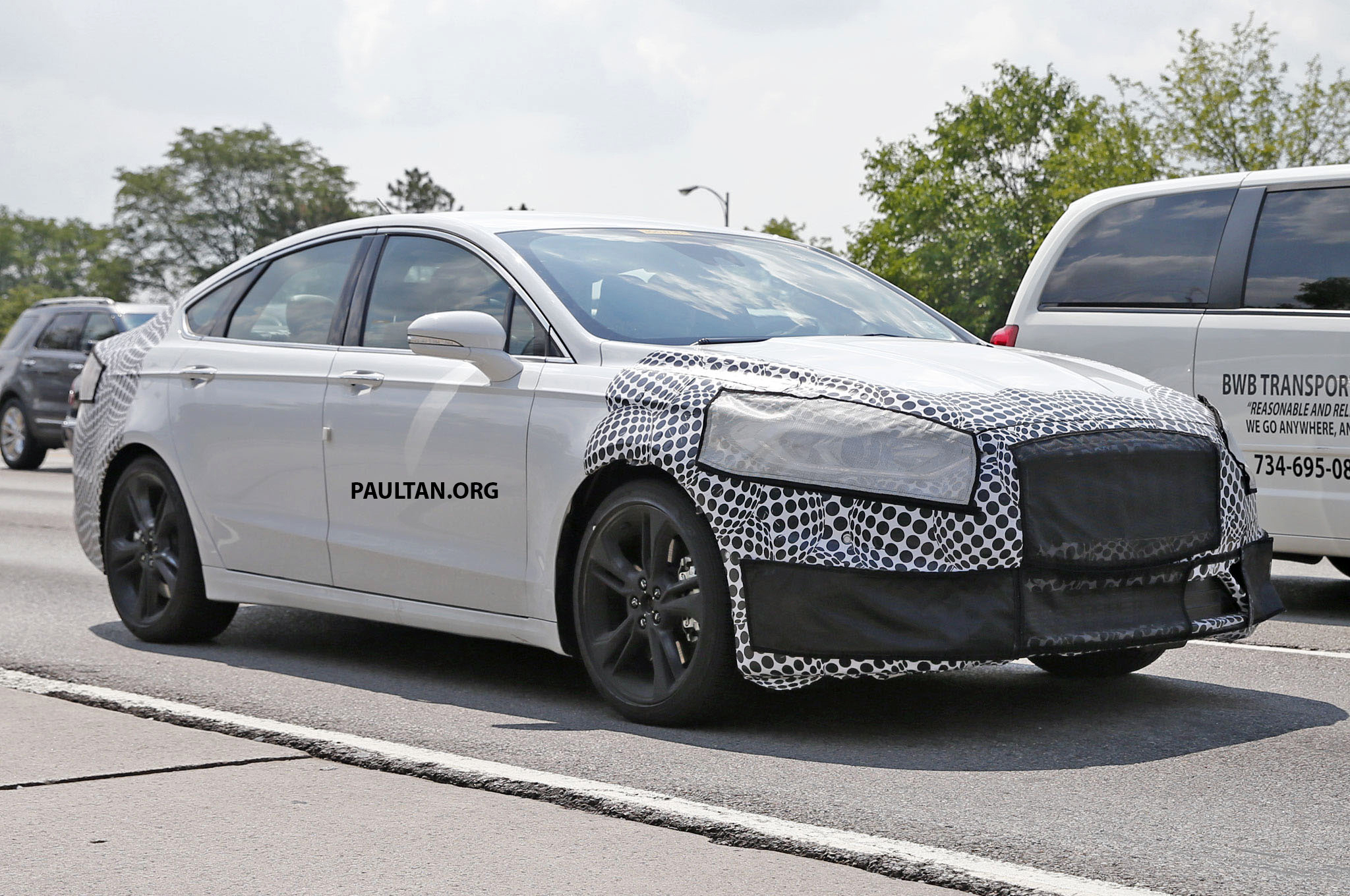 Ford Fusion St >> SPIED: Ford Mondeo/Fusion ST – fifth-gen gets sporty Image ...