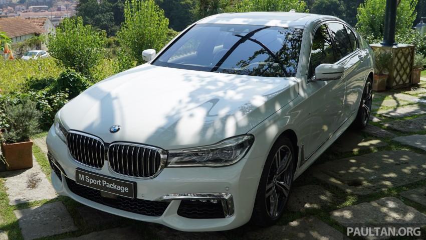 MEGA GALLERY: G11 BMW 7 Series in detail Image #375635