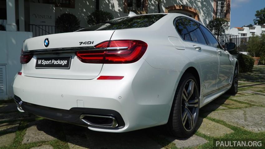 MEGA GALLERY: G11 BMW 7 Series in detail Image #375649