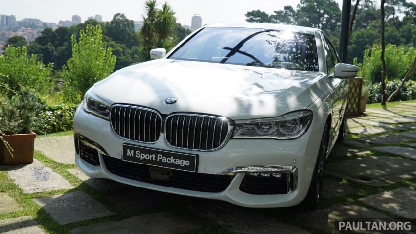 MEGA GALLERY: G11 BMW 7 Series in detail Image #375670