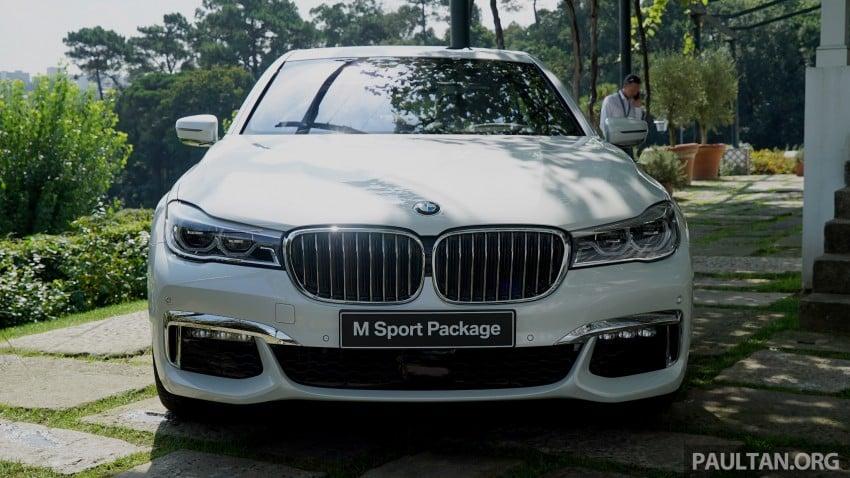 MEGA GALLERY: G11 BMW 7 Series in detail Image #375678