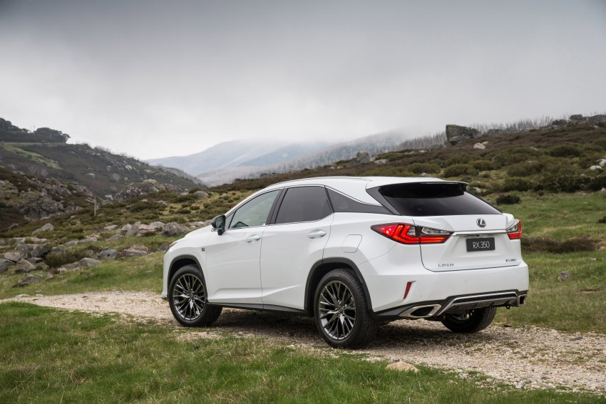 MEGA GALLERY: Lexus RX 350 and RX 450h variants Image #411404