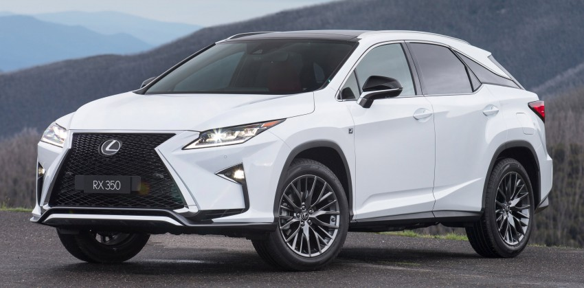 MEGA GALLERY: Lexus RX 350 and RX 450h variants Image #411403