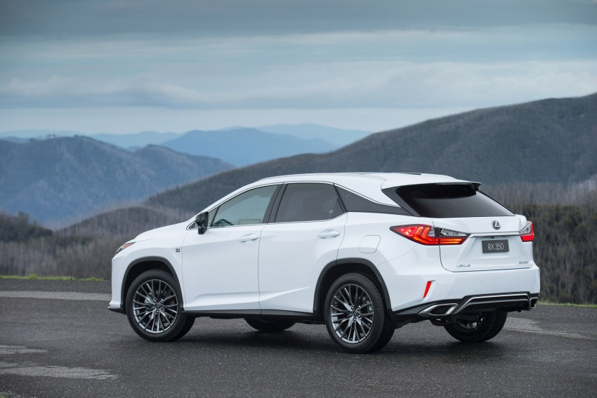 MEGA GALLERY: Lexus RX 350 and RX 450h variants Image #411381