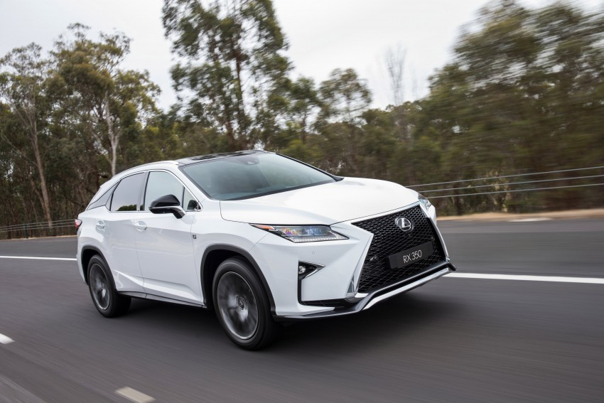MEGA GALLERY: Lexus RX 350 and RX 450h variants Image #411388