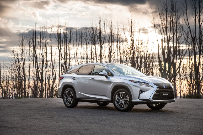 MEGA GALLERY: Lexus RX 350 and RX 450h variants Image #411390