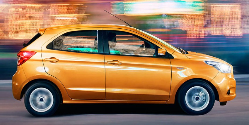 Ford Figo – new global A-segment hatch, from RM28k Image #383144