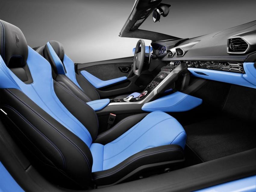 2017 Lamborghini Huracan LP610-4 Spyder premieres Image #379266