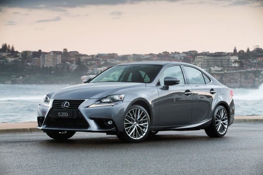 Lexus IS 200t specs listed on Lexus Malaysia's site Image #383059