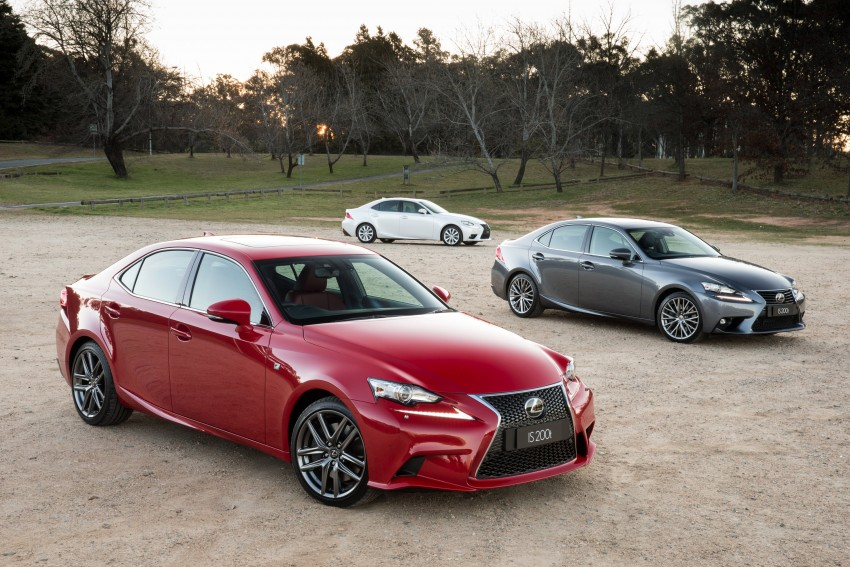 Lexus IS 200t specs listed on Lexus Malaysia's site Image #383065