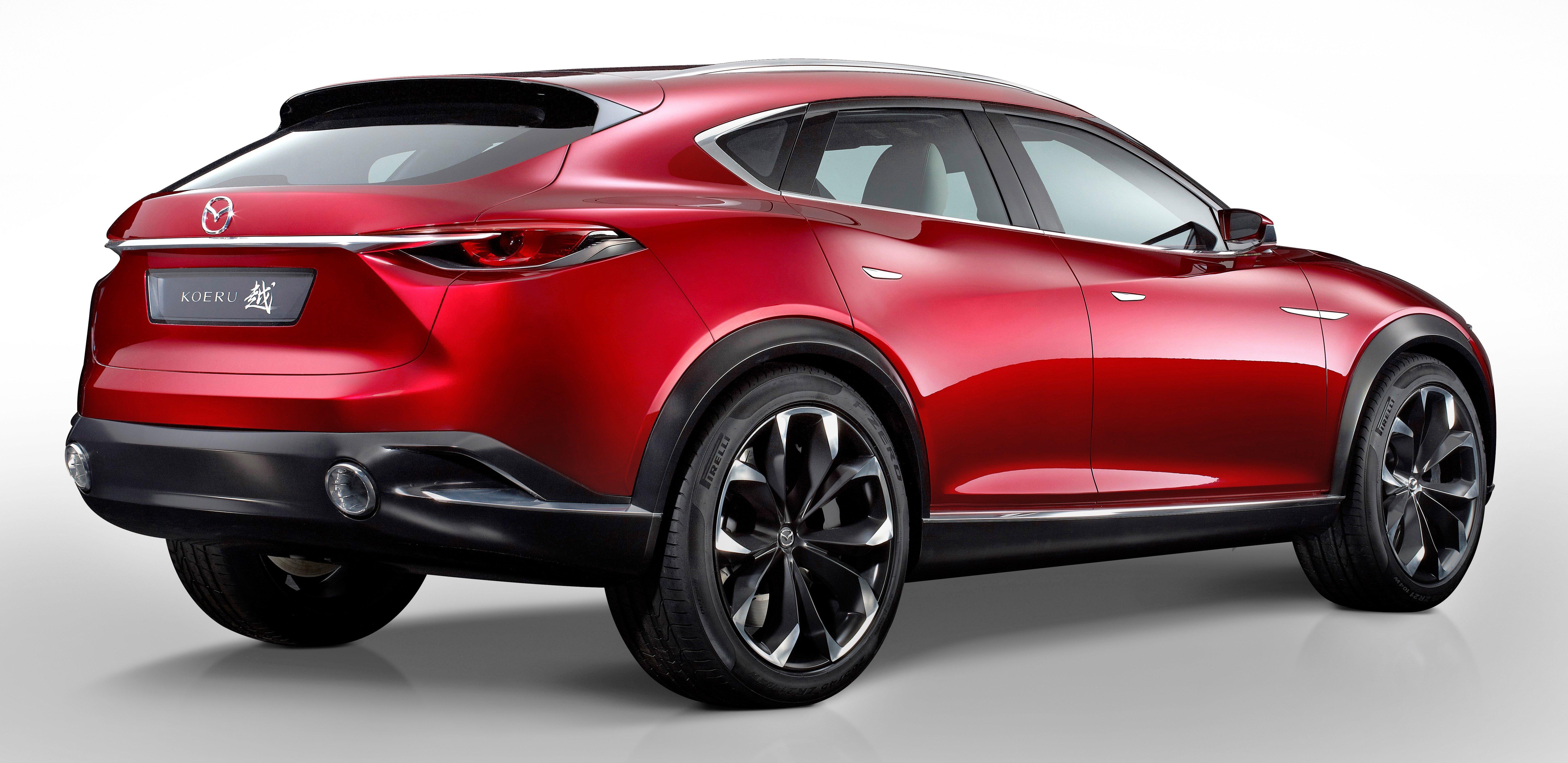 Mazda Koeru concept previews a sportier CX-5 SUV? Paul Tan ...