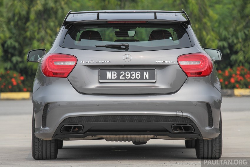 GALLERY: Mercedes-Benz A, CLA and GLA 45 AMG Image #379755