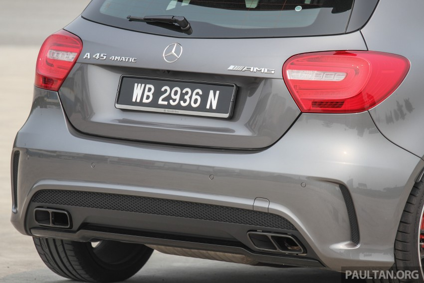 GALLERY: Mercedes-Benz A, CLA and GLA 45 AMG Image #379757