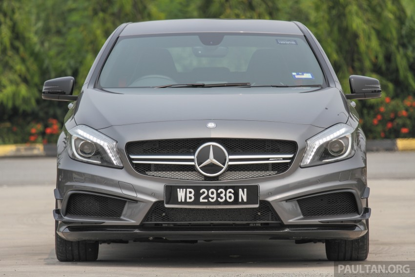 GALLERY: Mercedes-Benz A, CLA and GLA 45 AMG Image #379769