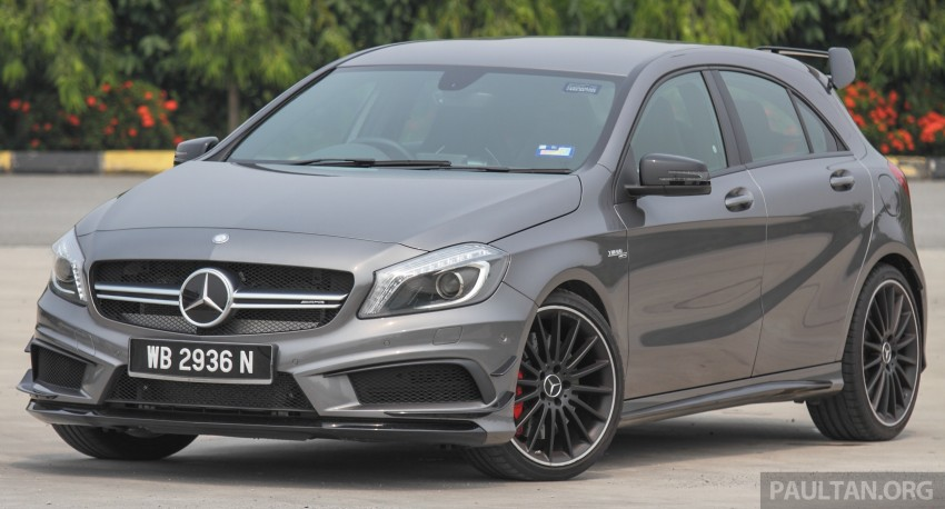 GALLERY: Mercedes-Benz A, CLA and GLA 45 AMG Image #379770