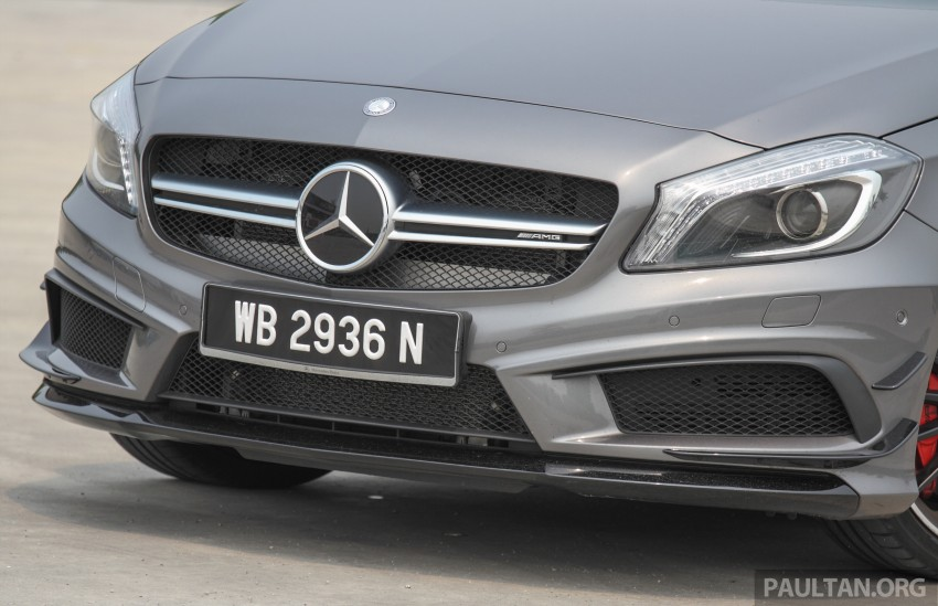 GALLERY: Mercedes-Benz A, CLA and GLA 45 AMG Image #379771