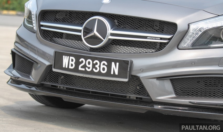 GALLERY: Mercedes-Benz A, CLA and GLA 45 AMG Image #379775