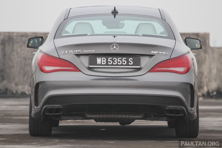 GALLERY: Mercedes-Benz A, CLA and GLA 45 AMG Image #379815