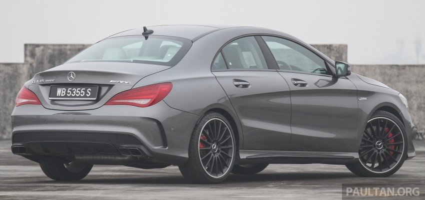 GALLERY: Mercedes-Benz A, CLA and GLA 45 AMG Image #379816