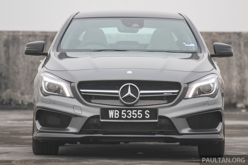 GALLERY: Mercedes-Benz A, CLA and GLA 45 AMG Image #379826