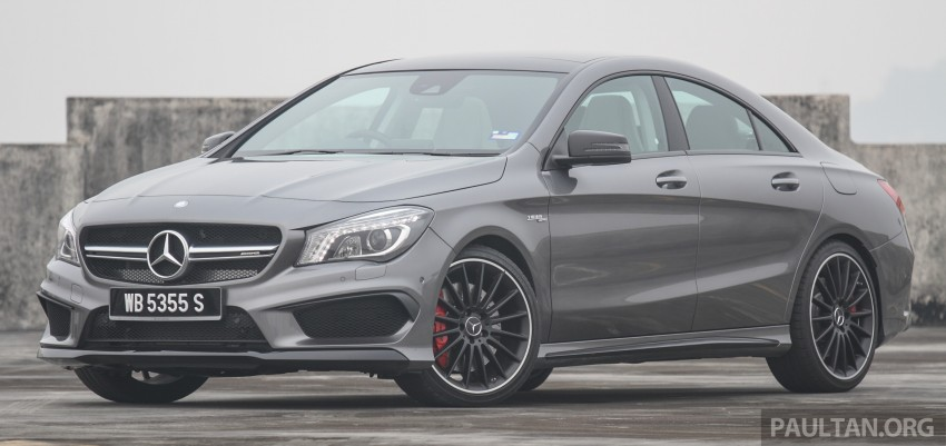 GALLERY: Mercedes-Benz A, CLA and GLA 45 AMG Image #379827