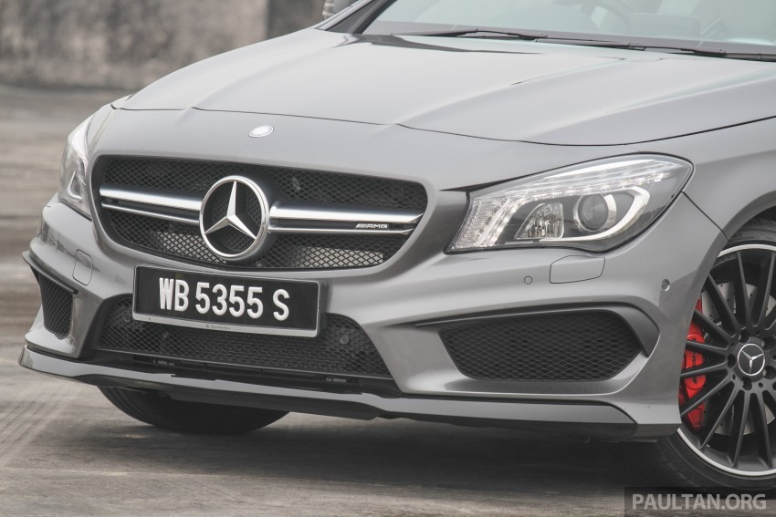 GALLERY: Mercedes-Benz A, CLA and GLA 45 AMG Image #379828