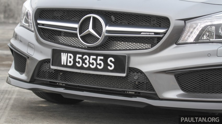 GALLERY: Mercedes-Benz A, CLA and GLA 45 AMG Image #379832