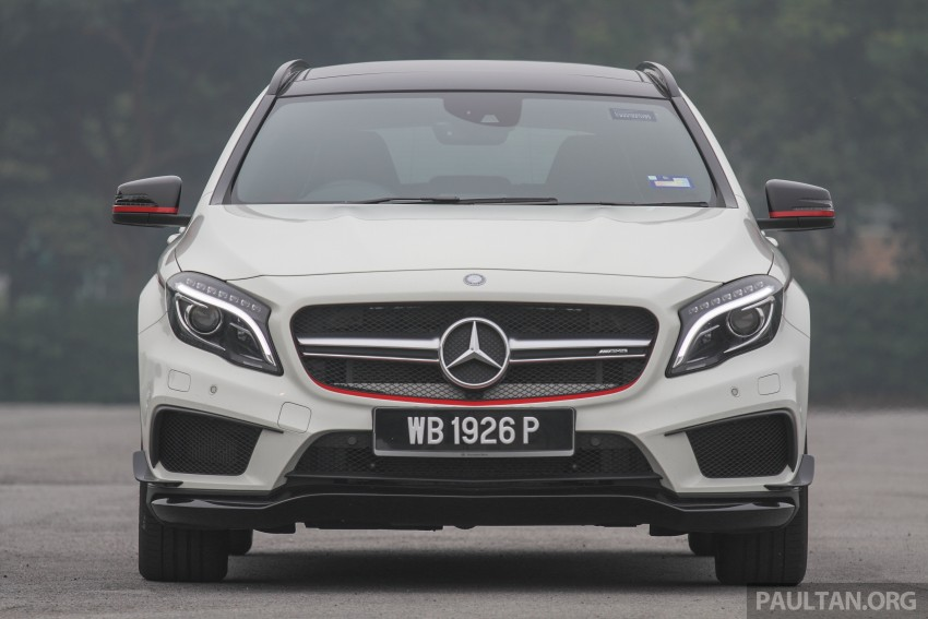 GALLERY: Mercedes-Benz A, CLA and GLA 45 AMG Image #379854