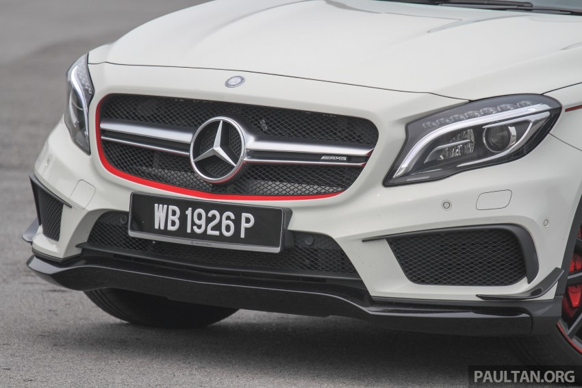 GALLERY: Mercedes-Benz A, CLA and GLA 45 AMG Image #379856