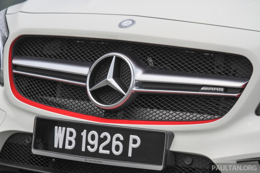 GALLERY: Mercedes-Benz A, CLA and GLA 45 AMG Image #379859