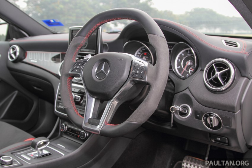 GALLERY: Mercedes-Benz A, CLA and GLA 45 AMG Image #379885