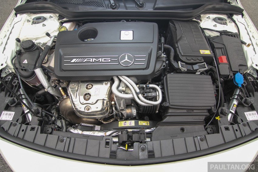 GALLERY: Mercedes-Benz A, CLA and GLA 45 AMG Image #379925