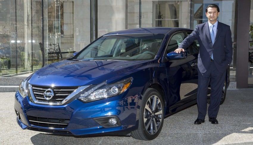 Nissan Altima facelift revealed; Teana to get revamp? Image #382809