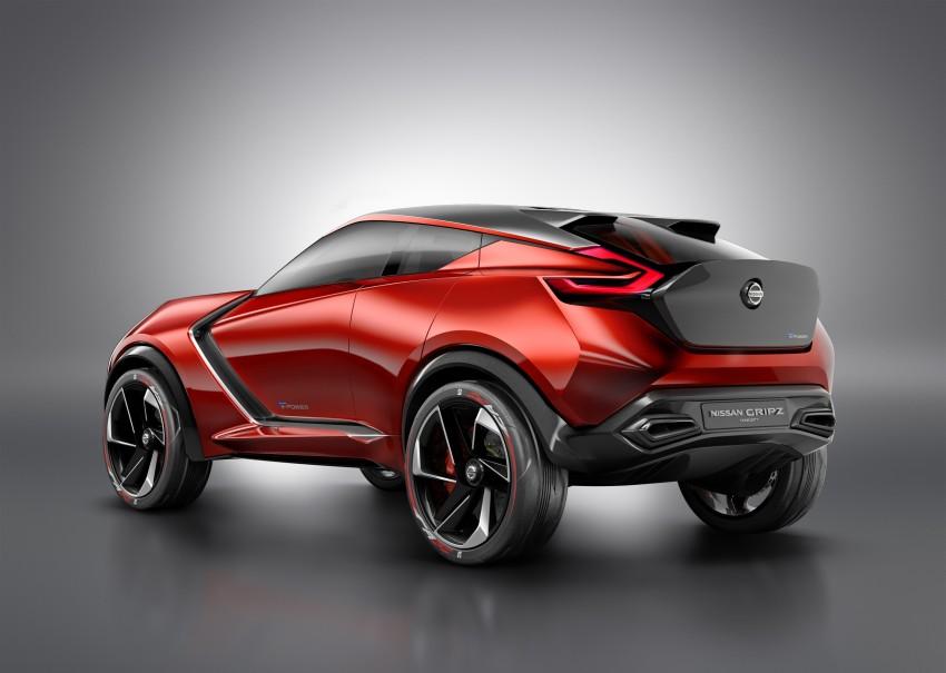 Frankfurt 2015: Nissan Gripz Concept finally debuts Image #380149