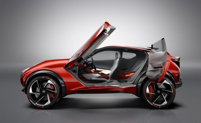 Frankfurt 2015: Nissan Gripz Concept finally debuts Image #380151