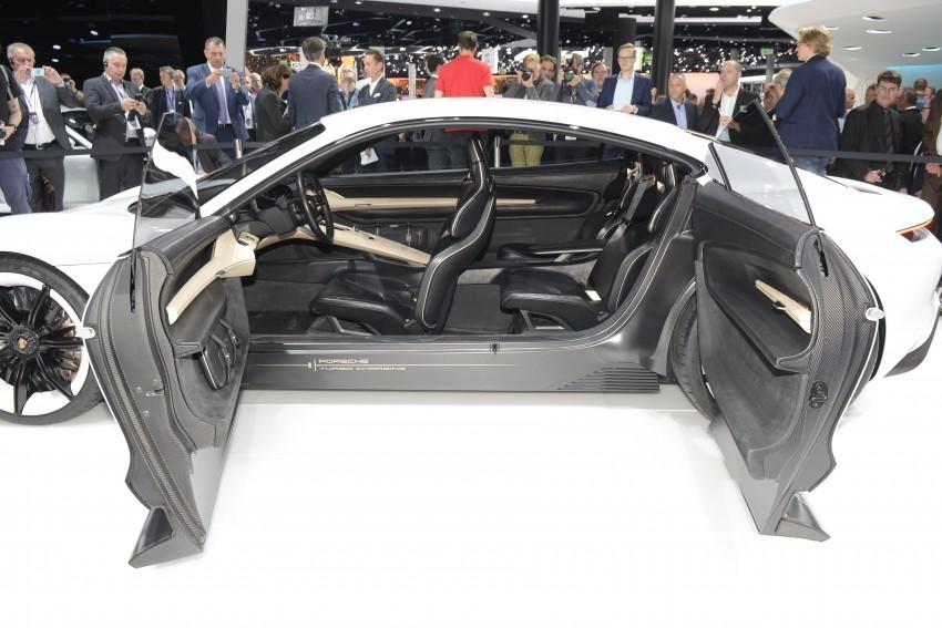 Frankfurt 2015: Porsche Mission E Concept revealed Image #381238