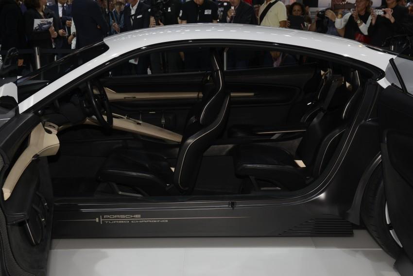 Frankfurt 2015: Porsche Mission E Concept revealed Image #381243