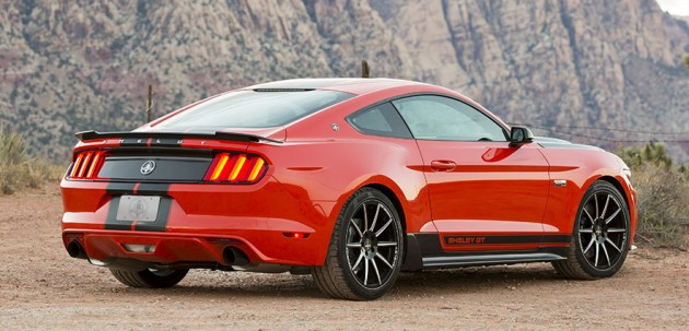 Shelby tuning pack for Ford Mustang 2.3 EcoBoost - 335 hp!